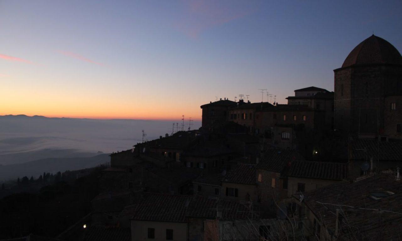 Volterra, City at Dusk